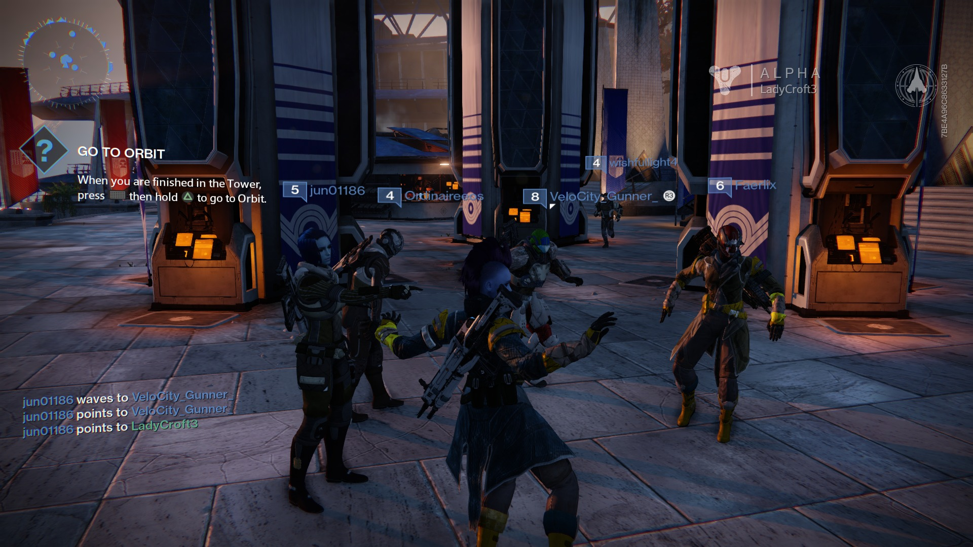Destiny's community could use some work for better communication.