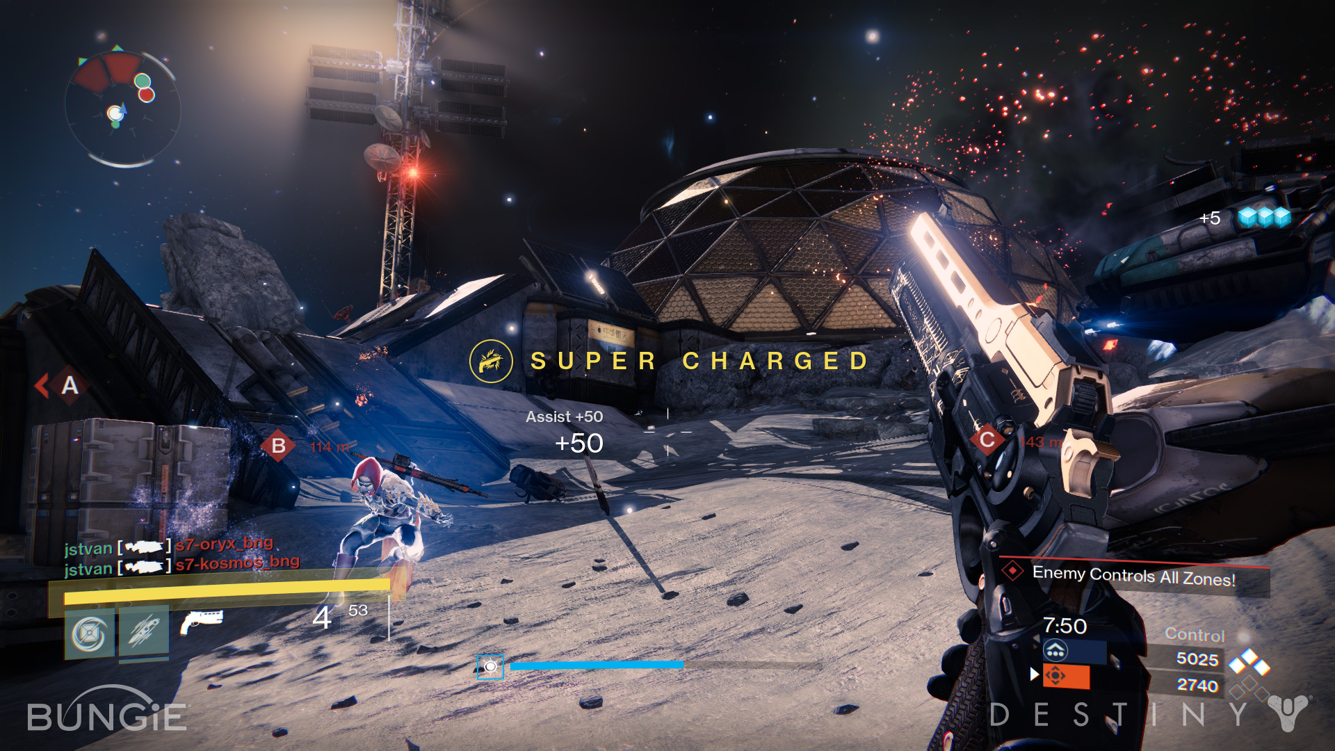 Destiny's multiplayer leaves much to be desired, but is still fun.