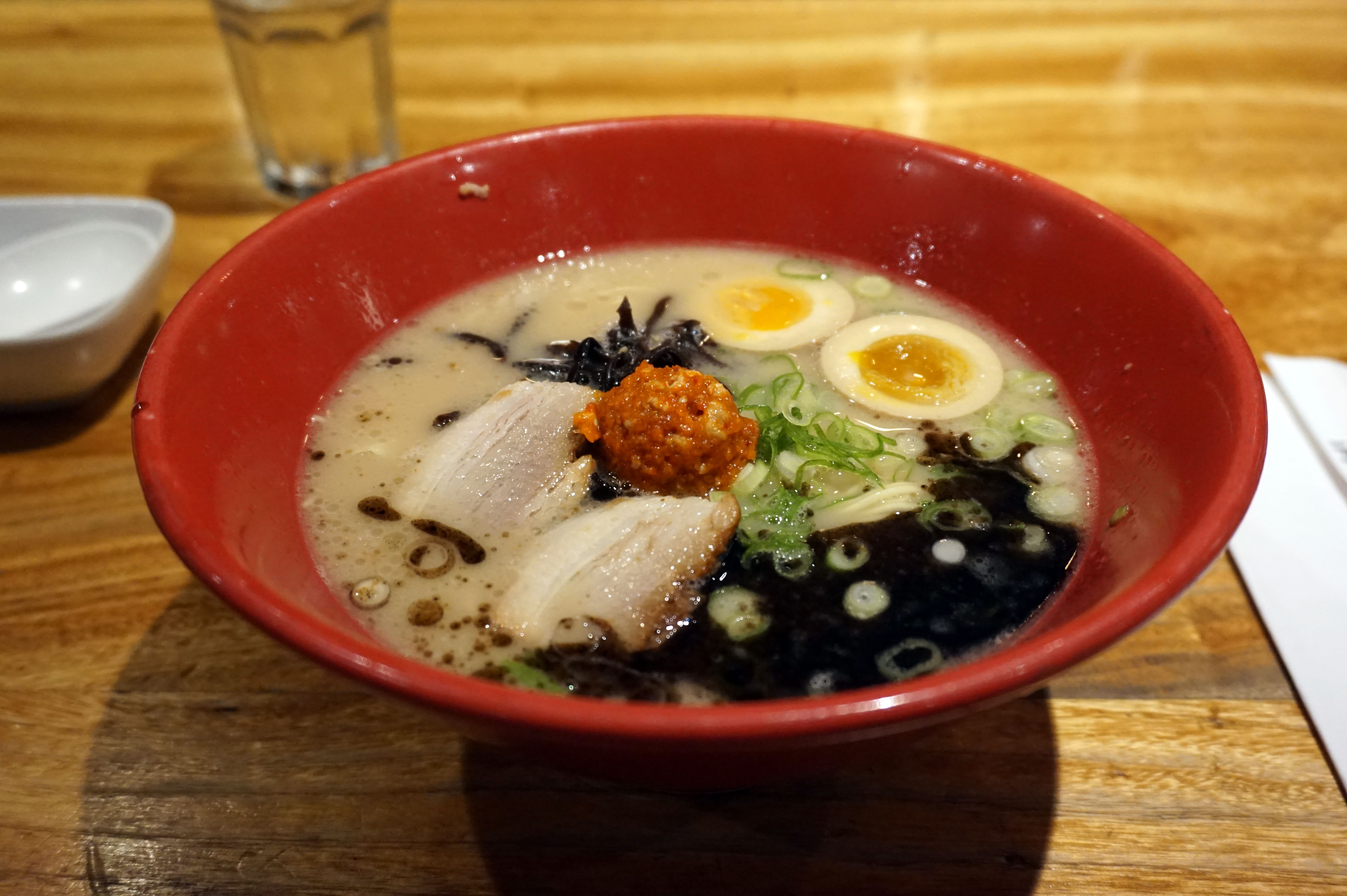 Akamaru Ramen at Ippudo