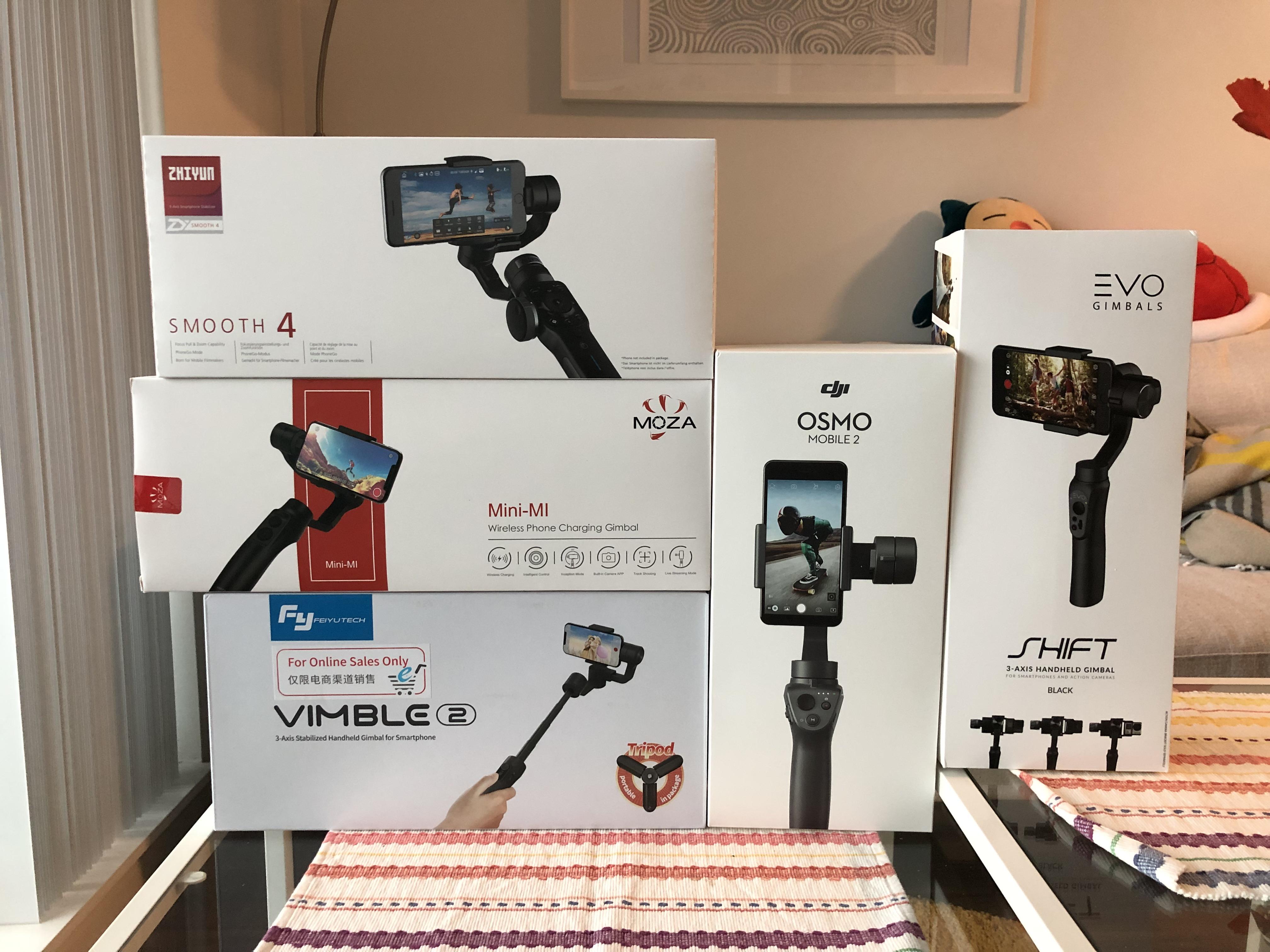 Smartphone Gimbal Boxes